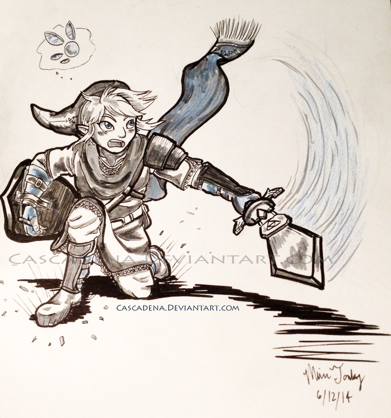 Sketchbook: HW Link by Cascadena
