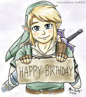 Birthday Link by Cascadena
