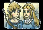 Link and Zelda: BotW