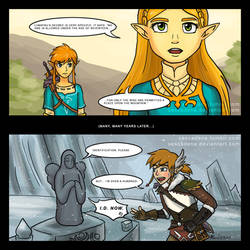 Comic: Hylia the Bouncer