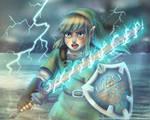 Lightning Battle (2021) by Cascadena