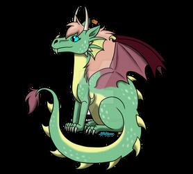 Chibi Arlene (DA Tutorial Dragon)
