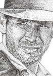 Indiana Jones Sketch Card ACEO by ryan-arneson