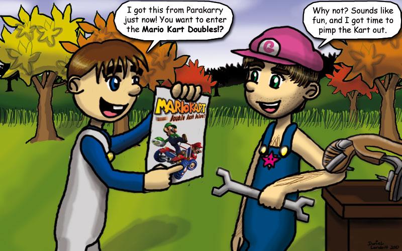 Mario Kart Double Dash Deluxe By Rogonandi On Deviantart