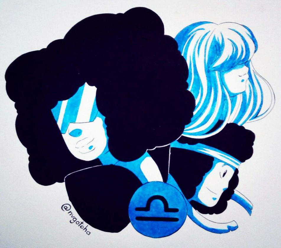 Tumblr link [Inktober list] English Here my second favorite composition from the Zodiac signs sketches, and since I thought in the crossover between the Zodiac signs and Steven Universe, this was t...