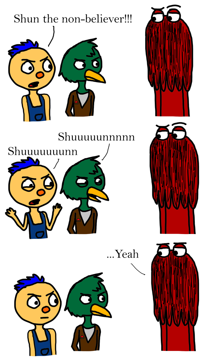 DHMIS- Shun the non-believer! by Jess4ever