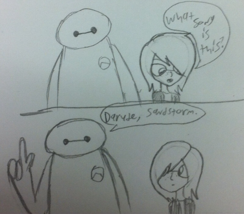 Baymax has been on the internet too long by Jess4ever