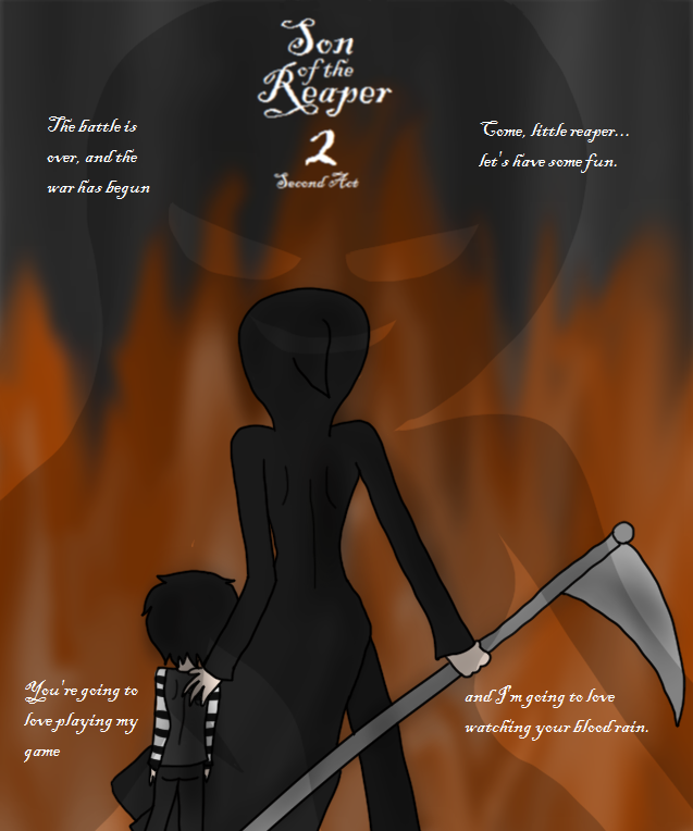 Son of the Reaper 2 (COVER #2) by Jess4ever
