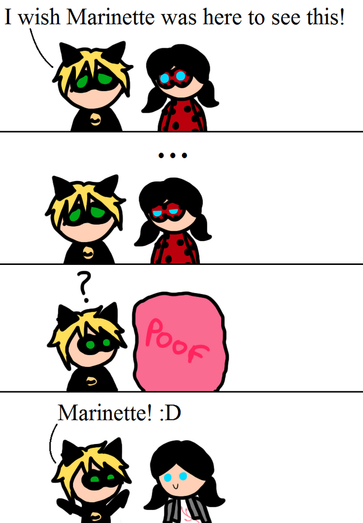 Miraculous Comic- I Wish Marinette Was Here! by Jess4ever ...