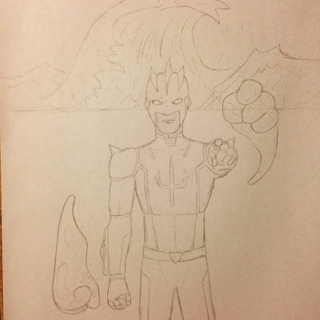 The Main Character of my Graphic Novel by Obiosborn