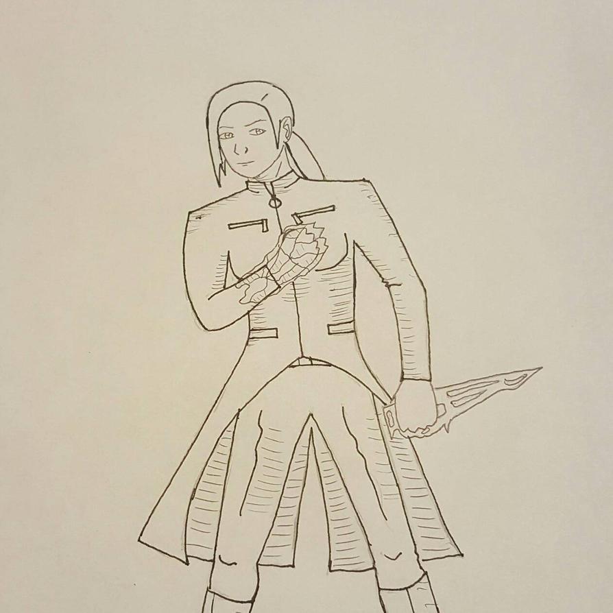 Ice Warrior by Obiosborn