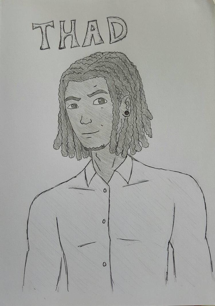 Thad: Character design by Obiosborn