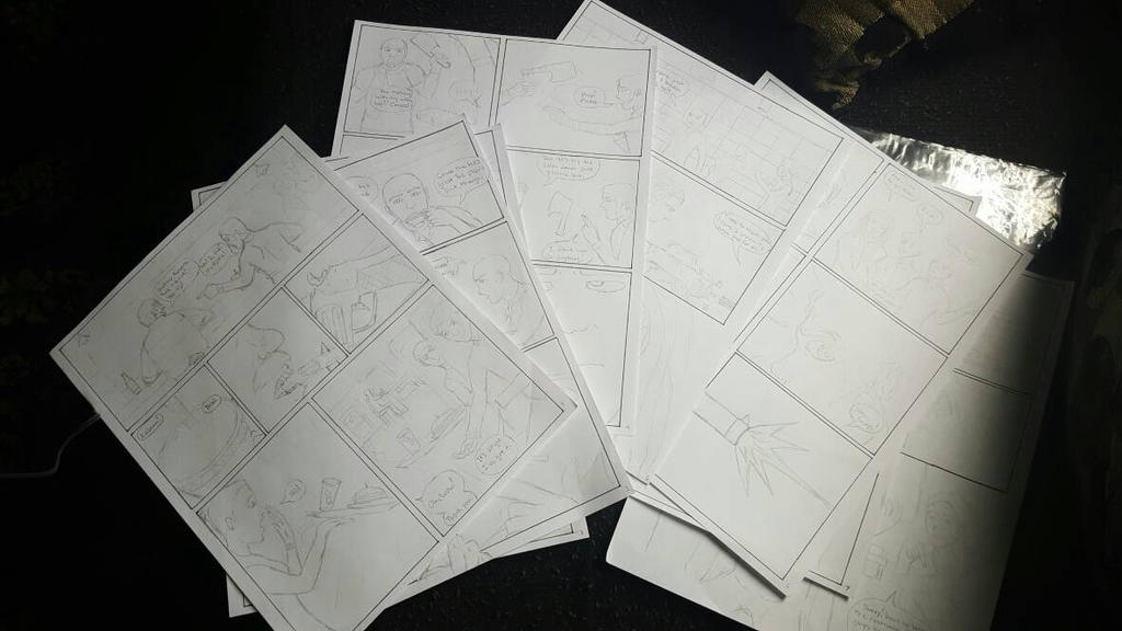 Finally started my comic: 1st 8 pages! by Obiosborn