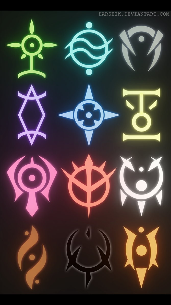 Power Crests by Obiosborn