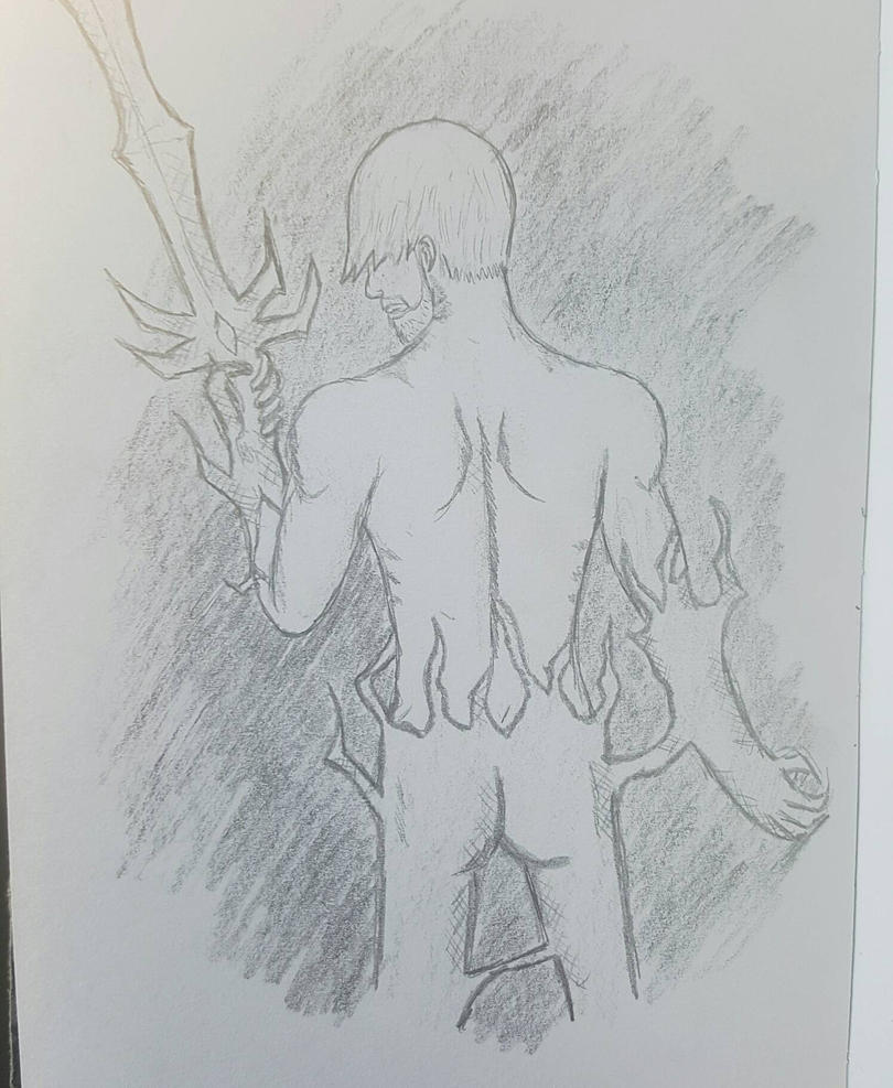 Man in the Shadows by Obiosborn