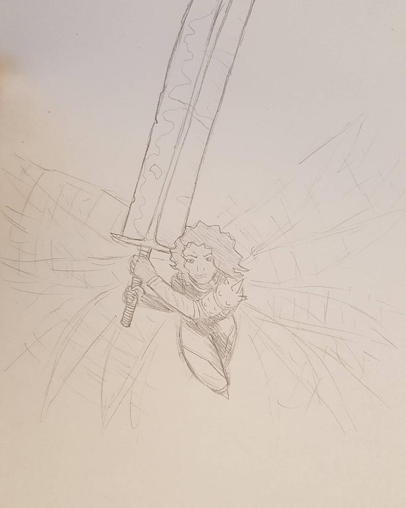 Warrior Fairy by Obiosborn