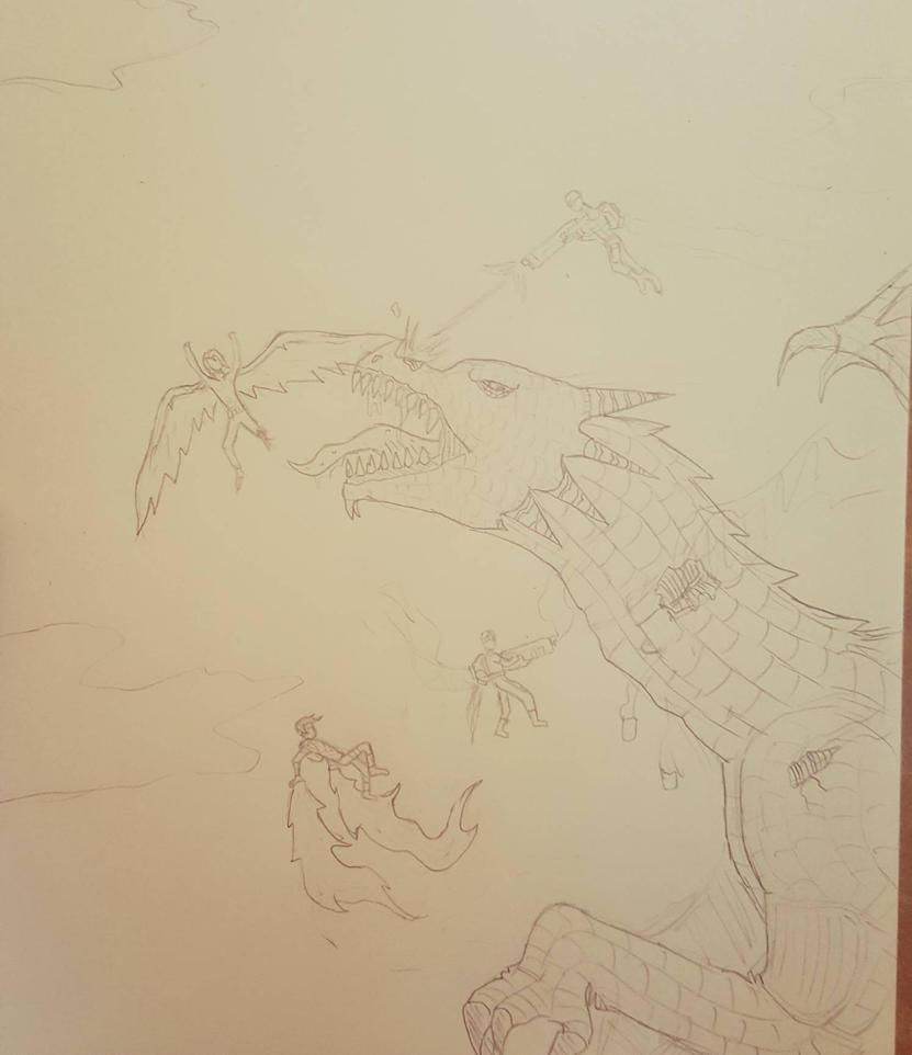 Kill the Dragon by Obiosborn