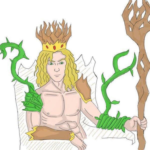 Forest King by Obiosborn