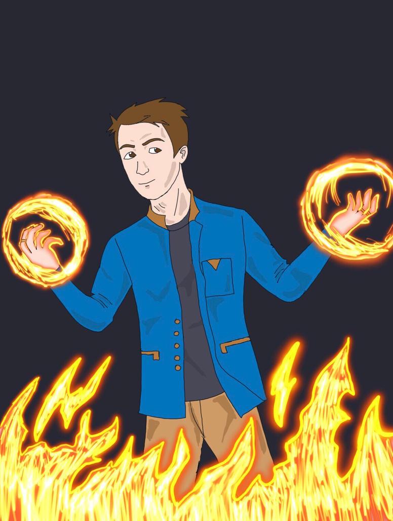 Fire Mage by Obiosborn