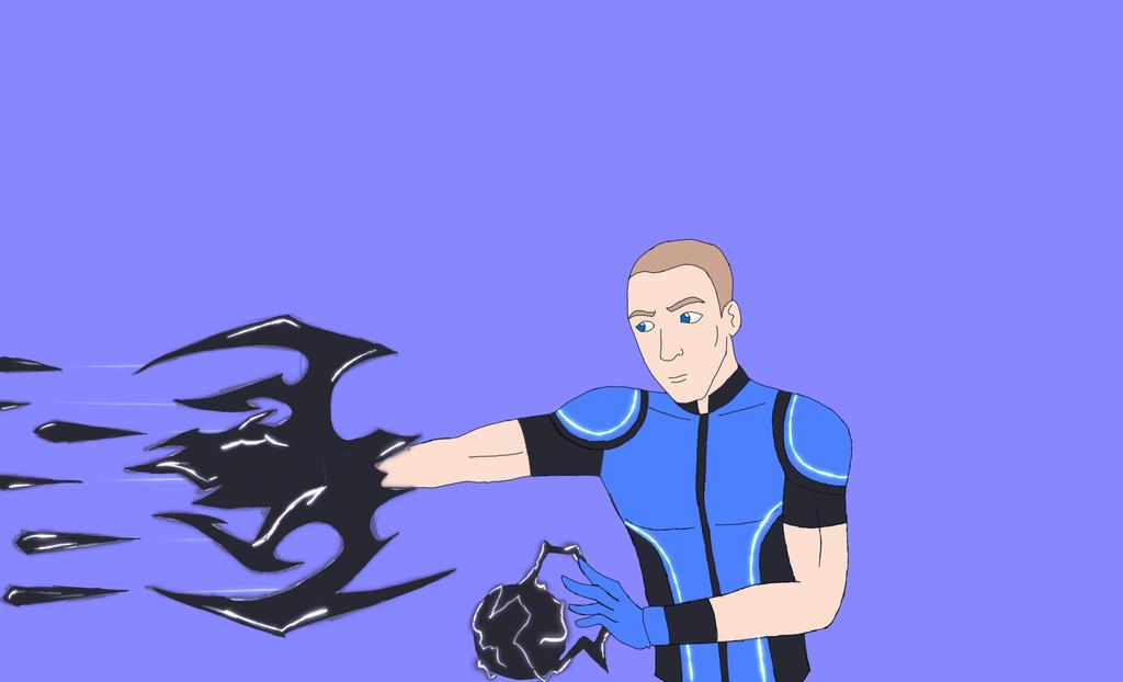 Shadow Assault (Blue Knight) by Obiosborn