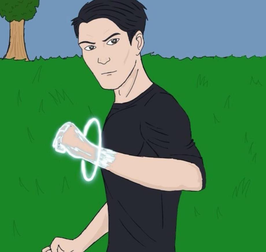 Energy Punch by Obiosborn