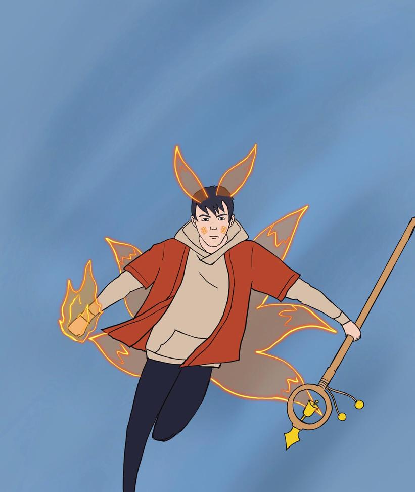 Fox Wizard by Obiosborn