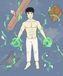 Joji the Psychic  by Obiosborn