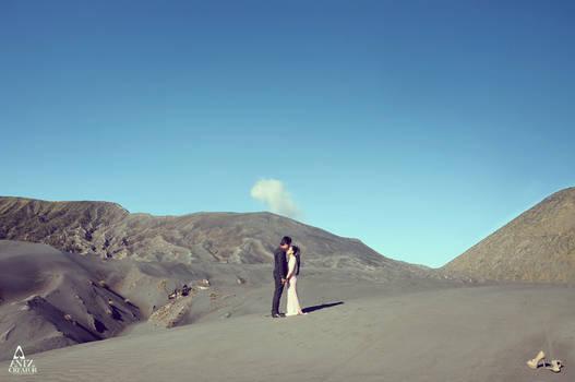 Prewedding @Bromo - East Java, Indonesia by antzcreator