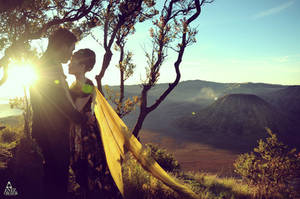 Prewedding @Bromo - East Java, Indonesia by antzcreator