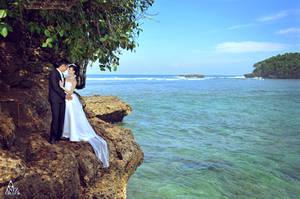 Prewedding @Balekambang Beach - Malang by antzcreator