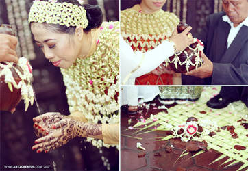 Javanese traditional wedding @Malang - Indonesia by antzcreator
