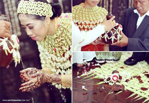 Javanese traditional wedding @Malang - Indonesia