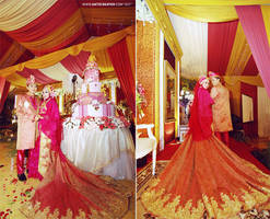 muslim wedding ceremony @Malang, Indonesia by antzcreator