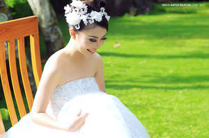 modern wedding @Malang, Indonesia by antzcreator