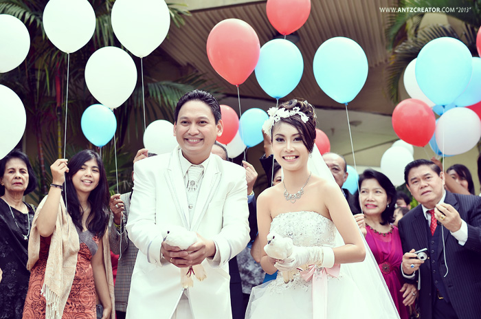 modern wedding @Malang, Indonesia by antzcreator by antzcreator