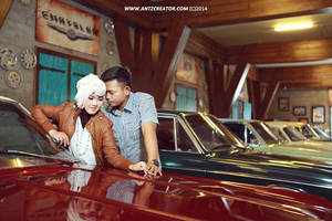 Prewedding at Museum Angkut, Malang I by antzcreator