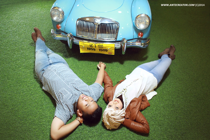 Prewedding at Museum Angkut, Malang III by antzcreator