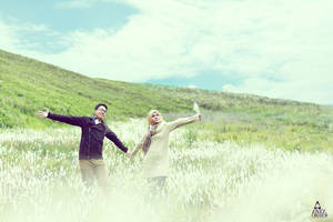 Prewedding at Bromo Mountain by Antzcreator by antzcreator