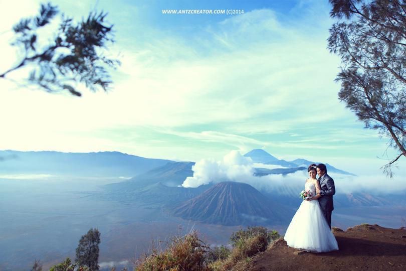 Prewedding @Bromo Mountain, Jawa Timur