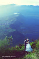 Pre Wedding at Mount Bromo by antzcreator