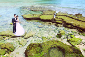 Prewedding at Pantai Goa China, Malang