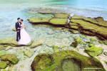 Prewedding at Pantai Goa China, Malang