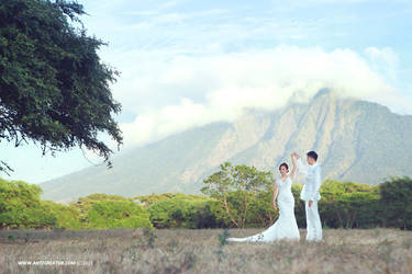 Prewedding at Baluran by Antzcreator by antzcreator