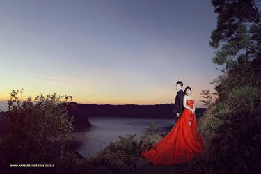 Sunrise Bromo Prewedding by antzcreator
