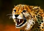 Fractal Cheetah 1