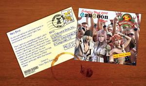Final Fantasy XIII Postcard