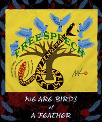 Venomous Free Speech Poster by rua-lupa