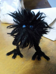 Soot Sprite / Void Puff by rua-lupa