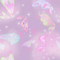 Winx - Believix Wings Seamless Background by EnchantingRainbow