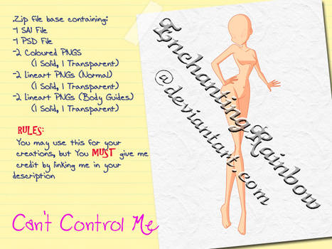 Can't Control Me - Paid Base Pack